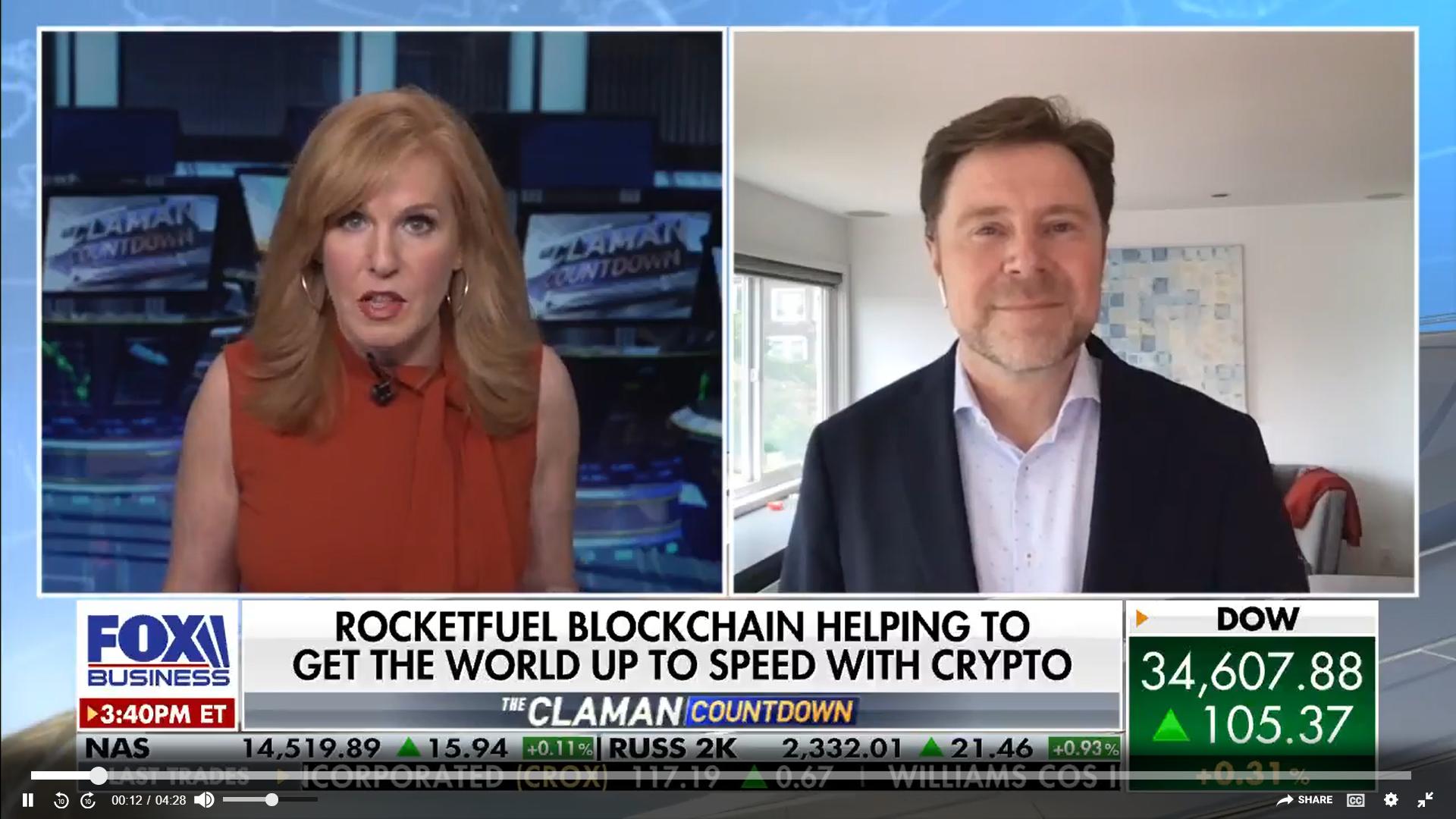 RocketFuel CEO Peter Jensen on Fox Business TV